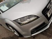 2011 AUDI TT S-LINE TDI DIESEL QUATTRO in silver 1 owner - Free warranty and finance is available