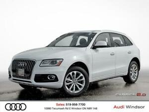 2016 Audi Q5 2.0T Progressiv+AWD+NAVI+BACK UP CAM
