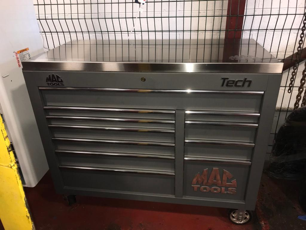Price On A Mac Tool Stainless Steel Top For A Tech Series