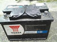 YUASA 75 AMP HOUR BATTERY