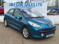 PEUGEOT 207 1.6 SPORT 5d AUTO 120 BHP A GREAT EXAMPLE INSIDE A (blue) 2009