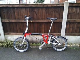 Brompton S type 2 speed for sale £550