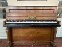 K Bord Upright Piano with adjustable stool