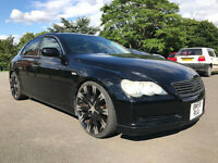 SUPERB TOYOTA MARK X 2005 73K 2.5 V6 (NOT GS300 IS250 MARK X) NEW IMPORT