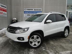 2015 Volkswagen Tiguan TSI 4MOTION CUIR AUTOMATIQUE TOIT PANORAM