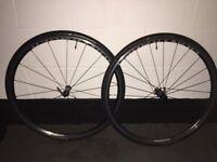 Bontrager Paradigm Elite Road Wheelset TLR 'MINT' SAVE £450.00!