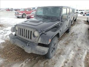 2015 Jeep WRANGLER UNLIMITED ALTITUDE MAGS CUIR NAVI 5 VITESSES
