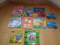 Bundle of 10 Activity, Learning and Reading Books