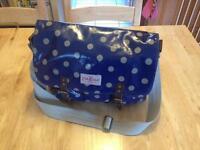 Cath Kidston oilcloth satchel bag