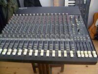 Mackie 1604 VLZ 16 channel 4 bus mixer (will swap for an original CR-1604 (non VLZ) model)