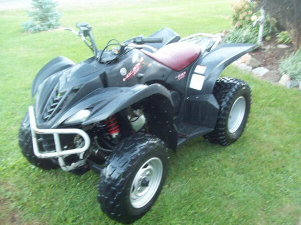 2008 Yamaha Wolverine special edition
