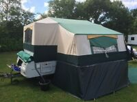 Conway folding camper 2008 with motor mover, full awning plus extras