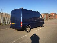 ford transit 2.4 tdci 125 bhp m.o.t 8 moths