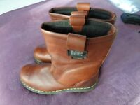 Dr.MARTENS.brown Airwair men's boots.U.K. 9.Pre-owned.