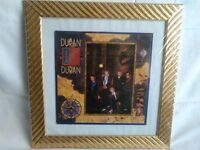 Duran Duran Seven and the Ragged Tiger LP framed