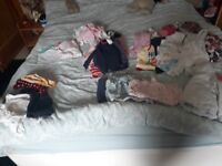 0 to 3 months girls clothes bundle