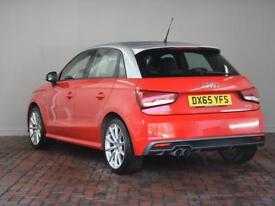 AUDI A1 1.4 TFSI 150 S Line [Comfort Pack, Custom Paint] 5dr (red) 2015