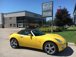 2008 Pontiac Solstice Convertible ~ 4 New Tires ~ Low kms ~