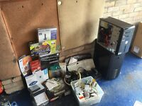 Large selection of computer parts, some brand new and boxed all good leads etc too much to list ....