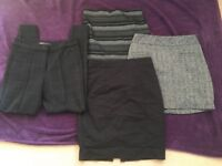 20 item size 8 bundle tops trousers skirts summer work casual