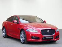 Jaguar XJ D V6 R-SPORT (red) 2016-12-29