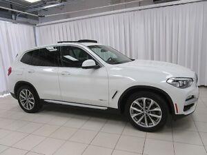 2018 BMW X3 30i x-DRIVE SUV w/ BLIND SPOT, NAVIGATION, PANO RO