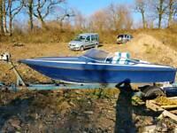 Boat, speedboat.