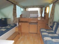 One Owner Very Little used & garaged from New Pennine Fiesta 2005 Folding Camper