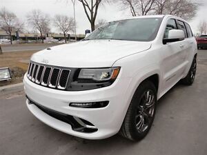 2015 Jeep Grand Cherokee SRT*NAPPA LEATHER WITH REAR DVD ENTERTA