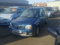 2003 52 micra 1.0 drives great cheap runabout