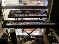 Roland FA06 61 workstation synthesizer