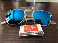 Rayban Sunglasses - Blue/Gold