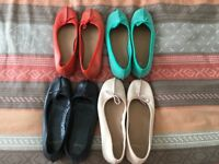 4 Pairs of Ladies Clarks Shoes