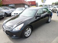 2010 Infiniti G37X Luxury LOADED/SUNROOF/AWD/ALLOYS AND MORE!