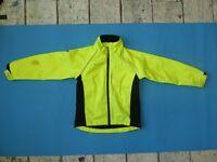 Mountain Warehouse High-Vis Waterproof Jacket size 7-8 years
