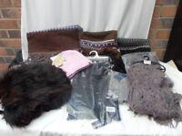 Job lot 40 Hats scarves gloves Next Playboy Brekka Lilli & Poppy Rossini Animal Regatta NEW EBAY