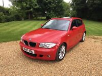 BMW 1 Series 118 M Sport 2.0L with Electric Sunroof