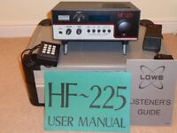 Lowe HF 225 General Coverage Receiver in good working order. Buyer to collect.