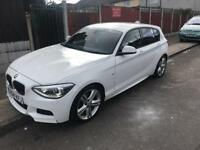 2014 BMW 1 series F20 M sport + 2l diesel 5 door hatch back