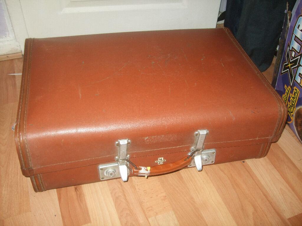 vintage suitcase, vintage Revelation suitcase, great for storing ...