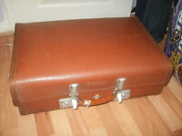 vintage suitcase, vintage Revelation suitcase, great for storing things in