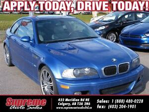 2004 BMW M3 SMG H.SEATS/S.ROOF/LEATHER