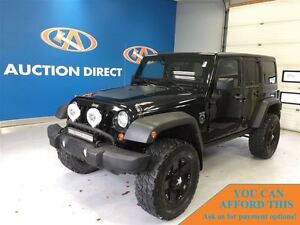 2011 Jeep WRANGLER UNLIMITED RUBICON, BLACK OPS ADDITION, NAV, F