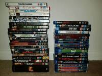Collection of DVD's and Blu Ray's