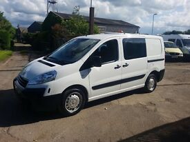 CHOICE OF 5 Peugeot EXPERT HDI TEPEE S/G L1 5-6 SEATER CREW DOG UNIT YOUR NEW DAY