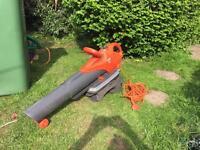 Flymo garden vac/blower