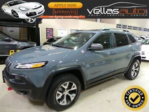 2014 Jeep Cherokee TRAILHAWK**NAVIGATION**PANORAMIC RF**4WD**