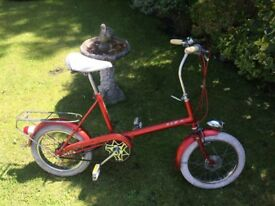 LADIES RSW VINTAGE TOWN SHOPPER BIKE VERY RARE MODEL CLEAN CONDITION RIDES VERY WELL
