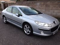 Peugeot 407 HDi Executive diesel automatic, 2005