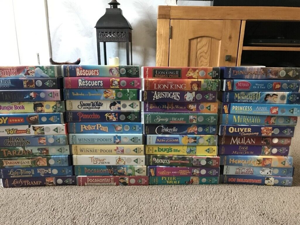 Where Can I Sell My Vhs Tapes >> Selling Bundle Of 44 Good Condition Original Disney Vhs Tapes In East End Glasgow Gumtree
